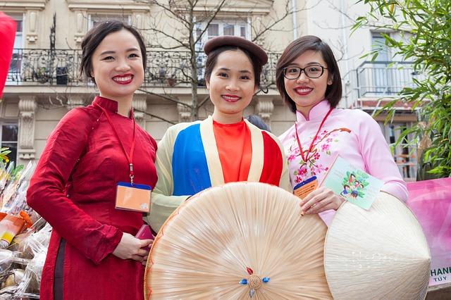 čínské dívky