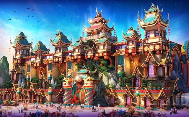 čína staré město