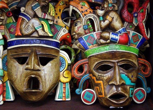 mexické masky