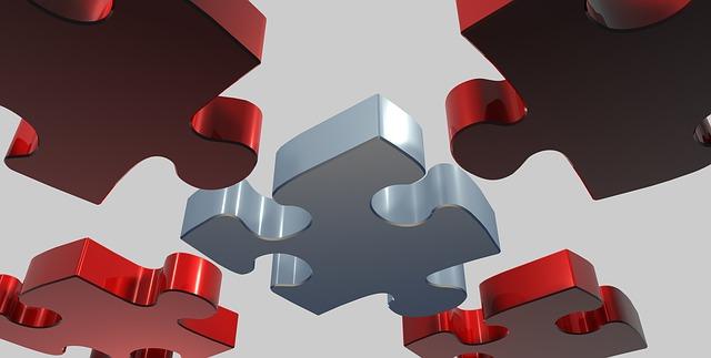 dílky puzzle