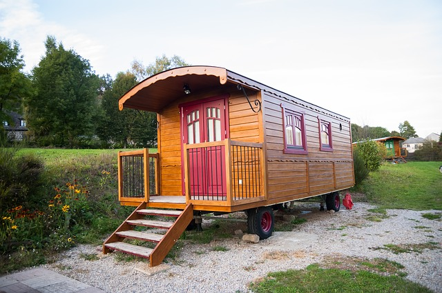 průkopník mobilní dřevostavby